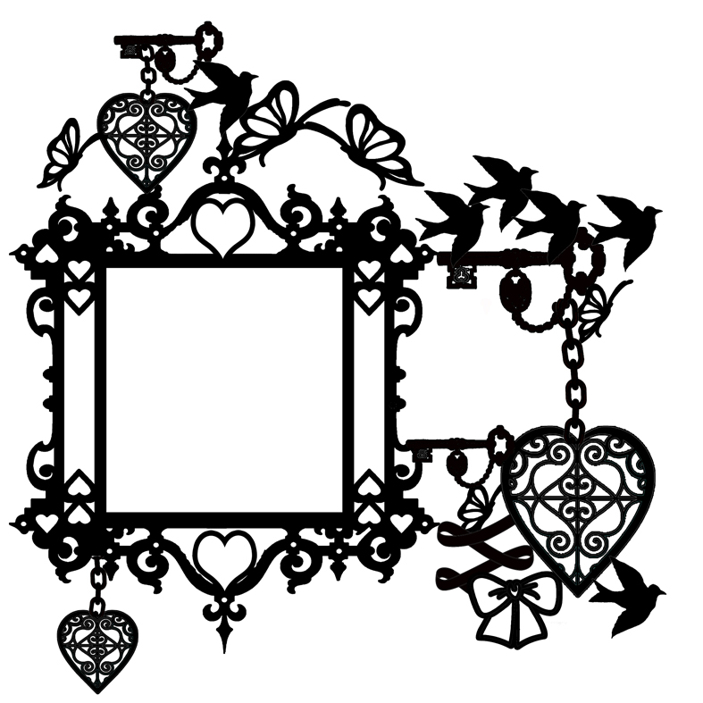 FANCY FRAME queen of hearts 300 x 300   Memory maze