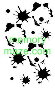 Stencil,mask or template J010  110X180