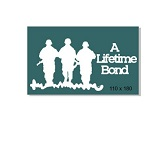 A life time bond , Anzac,soldier,army,military 110 x 180mm
