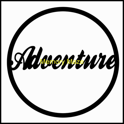 Adventure in circle 75 x 75mm packs of 3