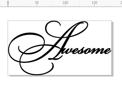 Awesome  Script  180 x 95