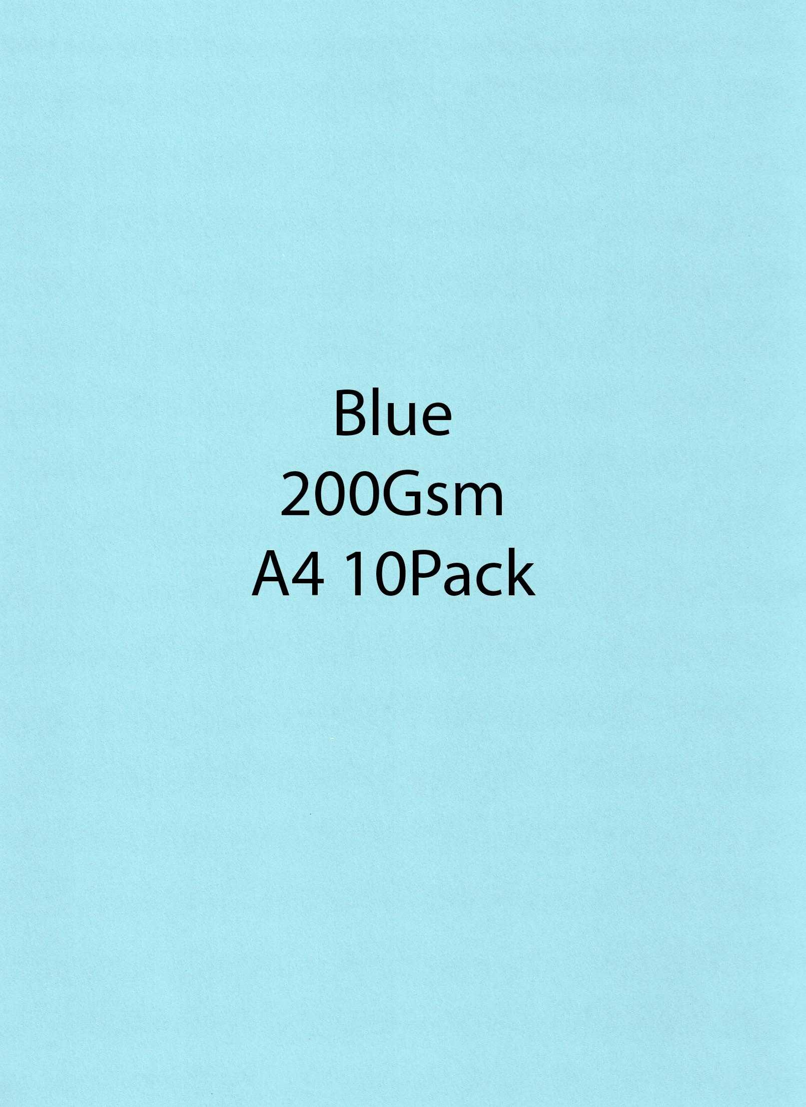 A4 Blue 200 Gsm 10 Pack