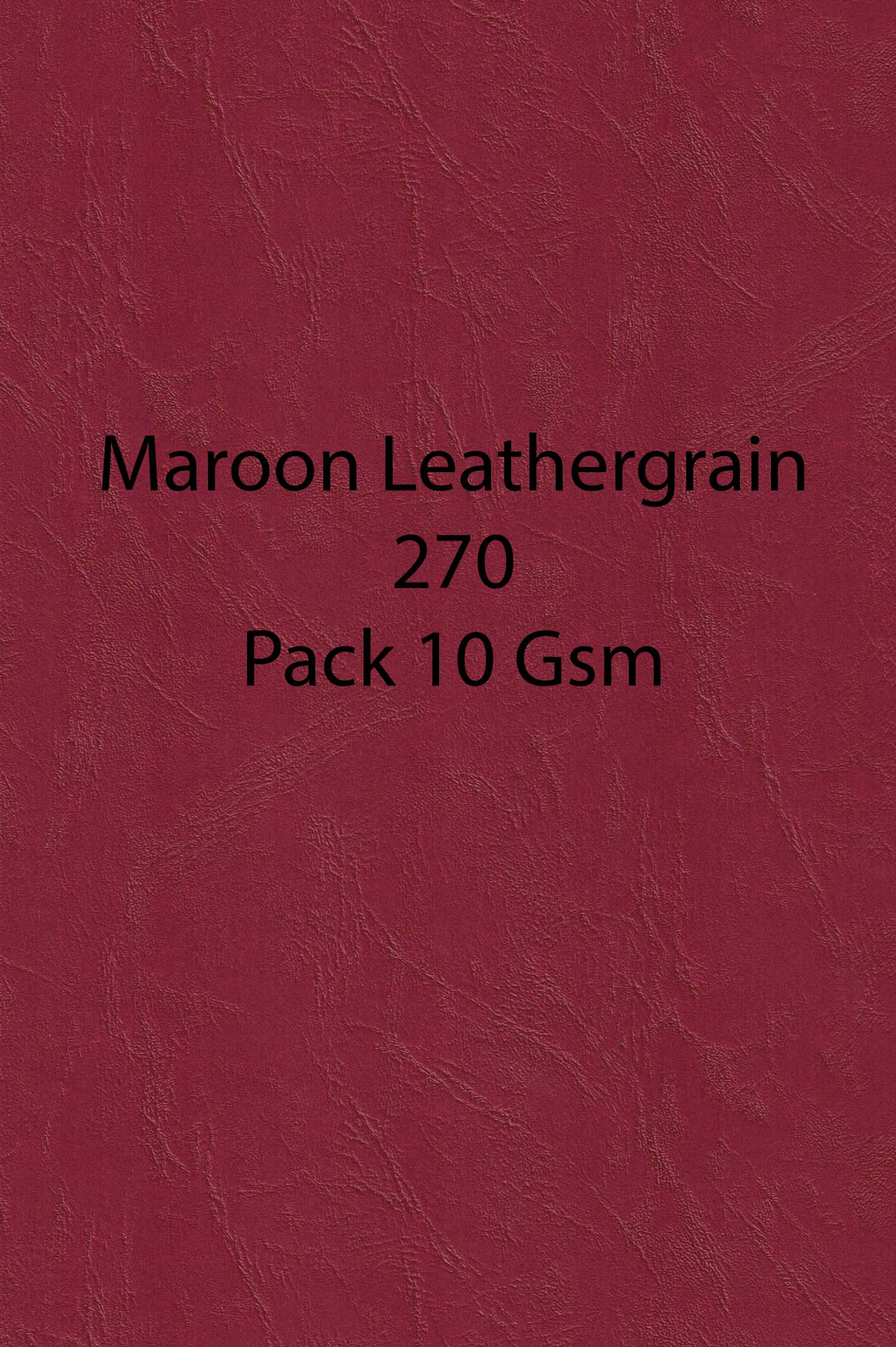 A4  Leather Embossed 270gsm 10 pack