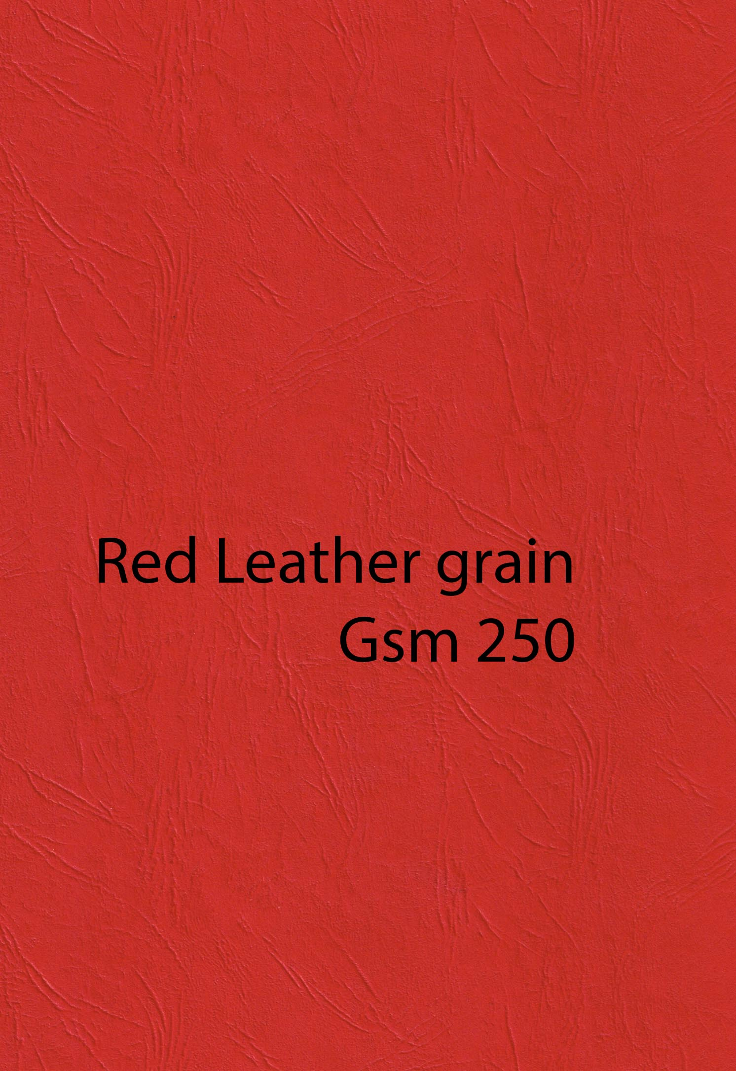 A4 Red Leathergrain Card 250 g Pack 10