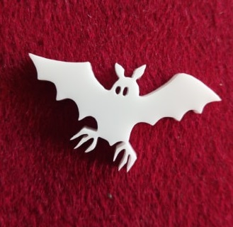 Bat Brooch or earring size acrylics  for orderi