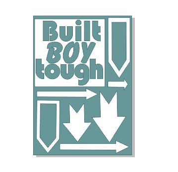 Built Boy tough A4 in size