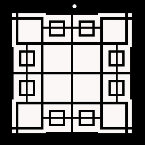 Centre weighted 200 x 200 sm  Memory Maze