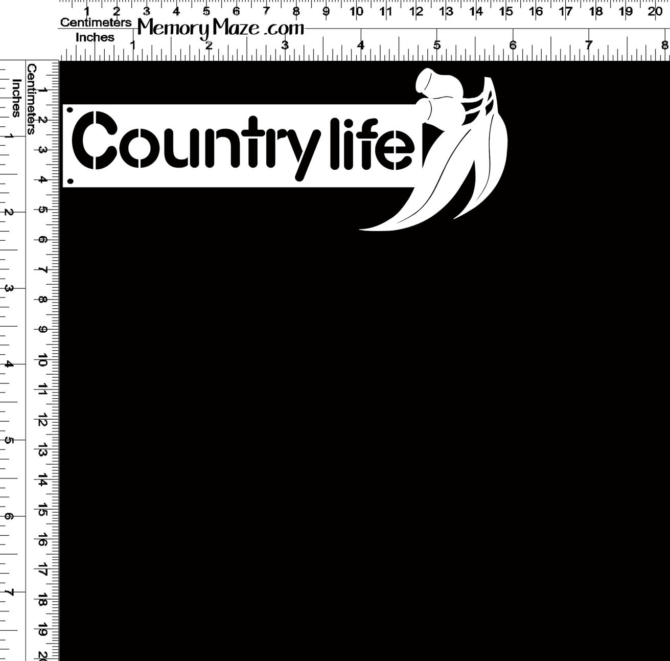 country life 150 x 58