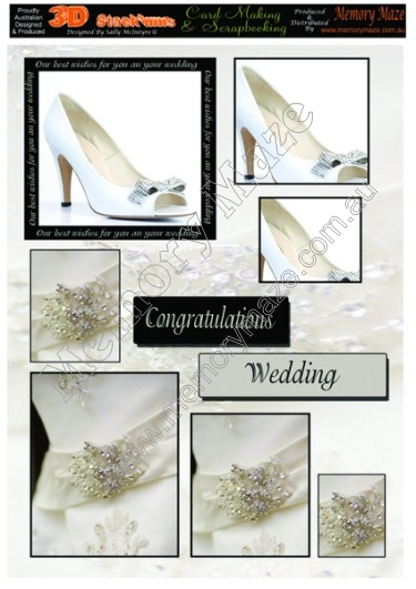 Wedding shoes and diamonds
