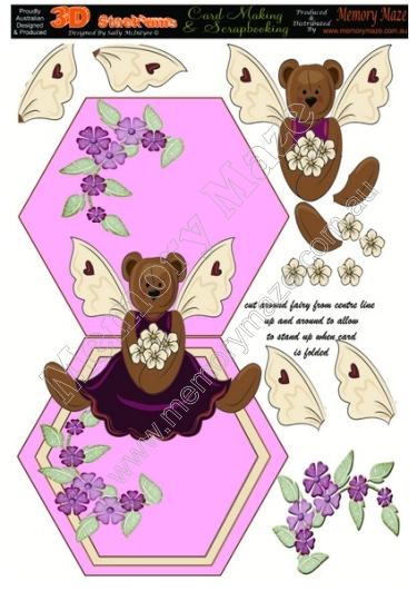 Teddy bear with wings