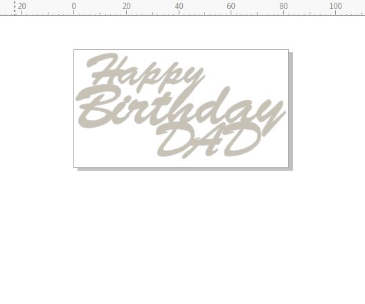 happy birthday dad  82 x 45  pack of 3