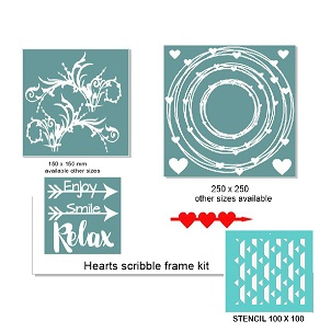 Scribble frame kit ,RETREAT OR WORKSHOP PACK