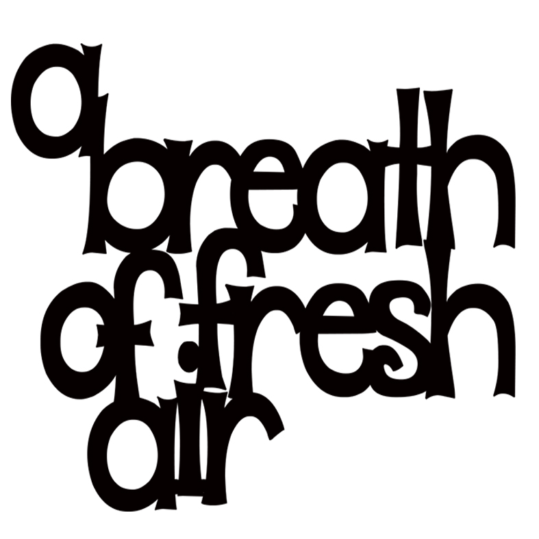 A breath of fresh air   100x100mm