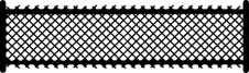 Lattice fence long