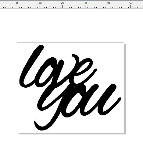 love you 47 x 40  pack of 3