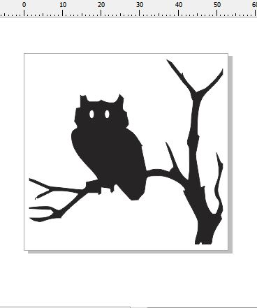 Owl card size 53 x 51 card size pack 3