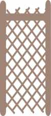 Lattice panel 53 x 120mm